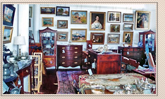 Extensive Gallery of Fine Art & Antiques