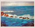 55 Oil Seascape by Erma Washburn
