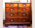 149 Mahogany English Chippendale Chest Ca. 1800
