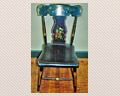 92 Set of 6 Vase Splat Blank Bottom Chairs Ca. 1840