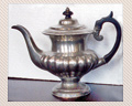 101 - 19TH. CENTURY COFFEE POT - UNSIGNED - PRICE $195